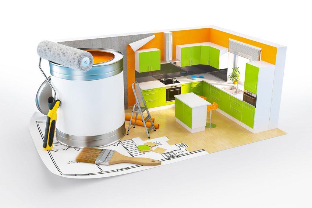 mieszkanie - malowanie ścian